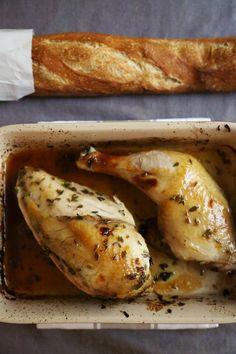 Lemon and Lavender Roast Chicken