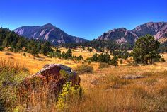 Boulder, CO  Where I lived for 6 weeks during UWP staging