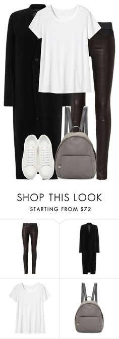 """""""Untitled #2846"""" by elenaday ❤ liked on Polyvore featuring rag & bone, Rick Owens, Toast, STELLA McCARTNEY and Yves Saint Laurent"""