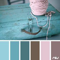 aqua & pink (object)