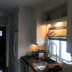 Galley kitchen before...