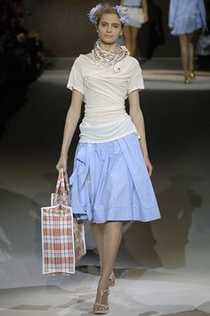 Louis Vuitton Spring 2007 Ready-to-Wear Fashion Show - Mariya Markina (CITY)