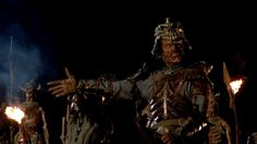 """23 '90s Horror Movies You Have to See Before You Die:     'Army of Darkness' (1992)  -   Whereas """"Evil Dead 2"""" was as much a remake of the original as a true sequel, Sam Raimi veered in a very different direction for the third film in the franchise. Here, we see Bruce Campbell's wise‐cracking hero travel back to medieval times to do battle with his evil doppelganger and a horde of creepy, stop‐motion Deadites. Groovy."""