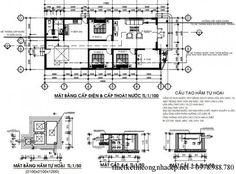 Kết cấu móng nhà cấp 4 7.5x18m
