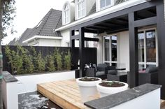 Piet Boon stijl, veranda. Strak maar sfeervol!
