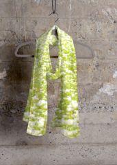 "Women's Fashion Cashmere Silk Scarf ""Field of Flowers"""