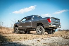 2in Leveling Lift Kit for 2016 4WD Nissan Titan XD Pickups [868] | Rough Country Suspension Systems®