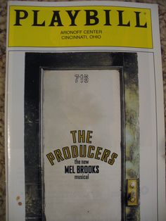 See a Broadway musical - CHECK: Phantom of the Opera and The Producers