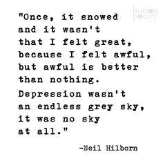 Neil Hilborn poetry