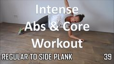 10 Min Abs Workout At Home – Including Obliques and Core with No Equipment