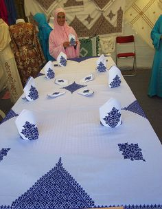 Morrocan embroidery