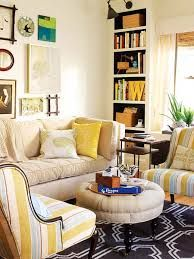 all plain pale on walls, patterned accents