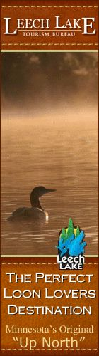 Leech Lake - the perfect destination for loon lovers.