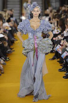 Christian Lacroix Spring 2008 Couture Fashion Show - Flavia De Oliveira
