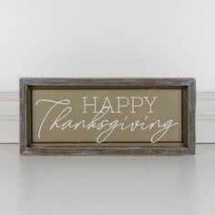 Thanksgiving Sign, #sign #thanksgiving #ThanksgivingMessageswords Thanksgiving Messages, Thanksgiving Signs, Happy Thanksgiving, Holiday Themes, Holiday Decor, Sign Display, How To Distress Wood, Office Decor, Wood Signs
