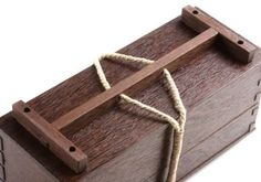 I think this is a cleaner solution. An added cross bar with holes keeps the rope from sliding side-to-side. They also give me a place to ter...