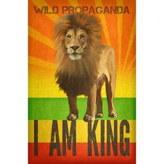 Artwork by Rob Whitehair @wildpropaganda  I AM KING illustrates the deep disconnect from nature that we are all confronted with in modern society.  On one hand the lion is revered in our pop culture as a king. And yet the reality of the lion is that it struggles to survive in an anthropocentric world that places one pressure after another on it.  Like many wildlife species around the world African lions are faced with habitat loss due to an exponential human first land use conversion.  When…