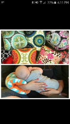 I think this is brilliant!  I think I will attempt to crochet a muff-pillow for my niece!  So clever!