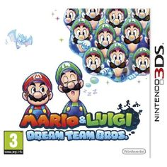 Mario and Luigi Dream Team Game 3DS Please Note 3DS titles are not compatible with standard Nintendo DS consoles Adventure with the Mario Bros into a 3D dream world to rescue Princess Peach in Mario and Luigi Dream Team for Nintendo 3DS http://www.MightGet.com/january-2017-13/mario-and-luigi-dream-team-game-3ds.asp