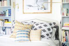 Dreamy bright & cheerful bedroom