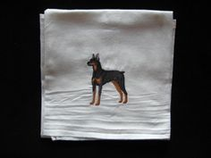 Machine Embroidered Doberman Pinscher Four by CraftsbyJeanJanisch, $6.50