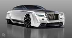 Rolls-Royce Phantom from the year 2050 could look like this