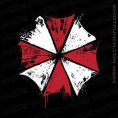 Corporación Umbrella, Tyrant Resident Evil, Majin Boo, Day Of The Shirt, Umbrella Corporation, Funny Tee Shirts, Japan, Unity, Pop Culture