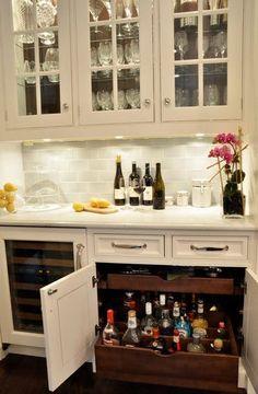 Liquor drawers