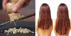 Come proteggere i capelli con lo zenzero | Rimedio Naturale