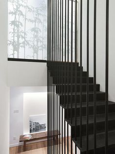 These vertical lines are a nice change from timber,WOULD LOOK GREAT WITH WHITE CONCRETE FLOOR.