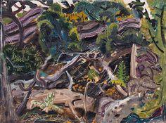 Arthur Lismer - Bush Tangle Georgian Bay 12 x 16 Oil on board (1949) Group Of Seven Paintings, Franklin Carmichael, Classical Art, Canadian Artists, Love Painting, Impressionist, Tangled, Modern Art, Adventure