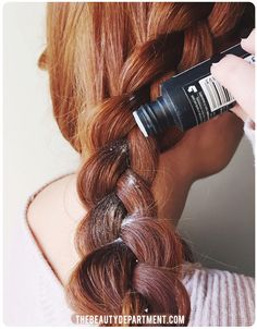 you'll need texture powder for those braided updos and chignons for sure. get the scoop on thebeautydepartment.com