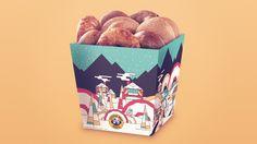 Einstein Bros. Bagels Holiday Packaging — The Dieline - Branding & Packaging