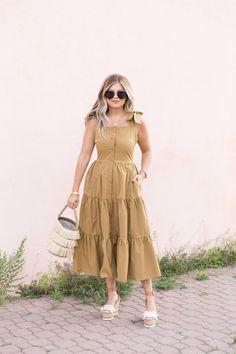 Modest Dresses, Pretty Dresses, Beautiful Dresses, Casual Dresses, Short Dresses, Frock Fashion, Modest Fashion, Boho Fashion, Fashion Dresses