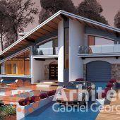 Casa cu etaj 61 | Proiecte de case personalizate | Arhitect Gabriel Georgescu & Echipa