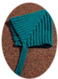 Pointy Ribbed Pixie Helmet Hat My inspiration for this cutie hat was a baby knitting pamphlet dated 1941. It had directions for a ribbed helmet hat for babies, but who says cute helmet hats are only for little ones (and who would want to knit something at 7 stitches an inch)?!! I developed this…