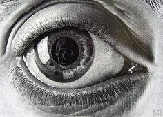M.C. Escher: Eye, 1946.