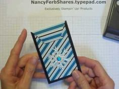 Video for Gift Card Holder, Check or Cash: http://www.nancyferbshares.com/nancy-ferb-shares-papercr/2013/12/gift-card-holder-video.html