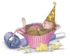 """Happy Birthday!"" from House-Mouse Designs®"