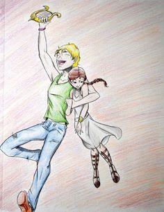 The twins: Apollo and Artemis
