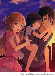 Happy Family Asuna Yui Kirito