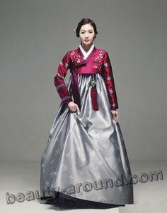 Традиционный костюм Кореи фото