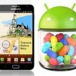 Samsung Note 1(GT-N7000) için Android 4.1.2 Jelly Bean Yenilikleri