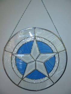 Stained Glass Star Suncatcher