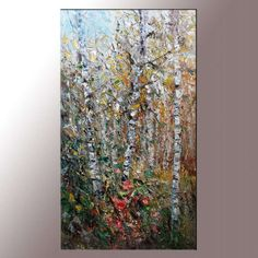 Landscape Oil Painting, Painting Abstract, Living Room Wall Decor, Modern Art, Abstract Canvas Painting, Large Art, Large Canvas Wall Art