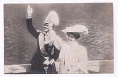 Princess Margaret of Connaught Sweden Prince Gustav Adolf waving on boat PC   Collectibles, Postcards, Royalty   eBay!