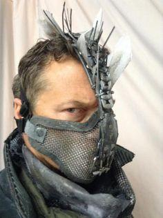 Mohawk mask.