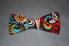 Ready to Ship Boy's Bow Tie Fun with Color by finneousandbean, $12.99