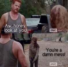 """Abraham Ford 4x11 """"Claimed"""" I loved this part. If he is always like that I will probably like his character good or bad.(as long as he stays the hell away from Daryl if he is bad)"""