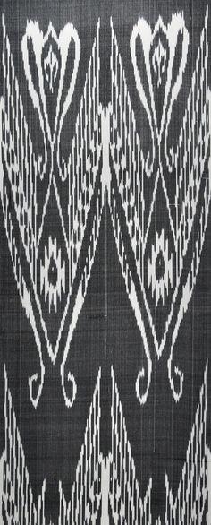 Willow Pearls – Ikat Fabric
